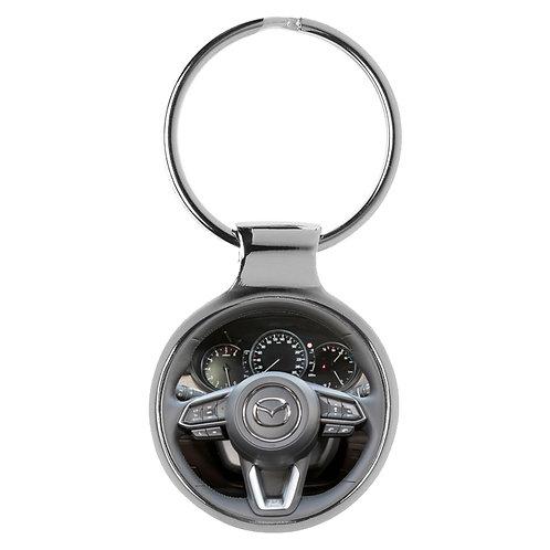 Geschenk für Mazda 6 Fans Cockpit Schlüsselanhänger 20827