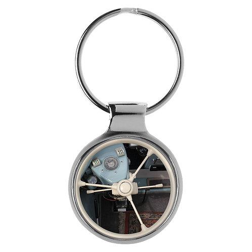 Geschenk für BMW Isetta Fans Cockpit Schlüsselanhänger 20837