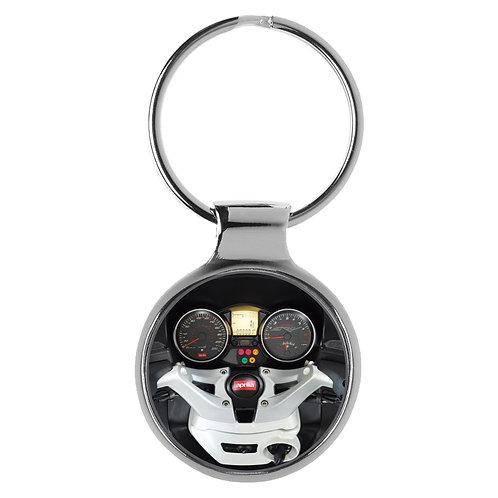 Geschenk für Aprilia SRV 850 Fans Cockpit Schlüsselanhänger 10106