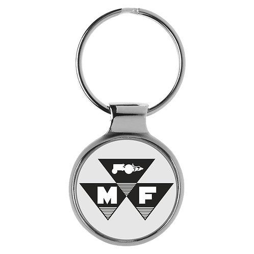 Massey Ferguson Traktor Schlepper  Logo Keychain Fan Schlüsselanhänger A-9725