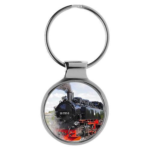 Dampflok Lokomotive Bahn Modell Eisenbahn Geschenk Schlüsselanhänger 9669