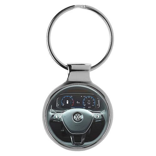 Geschenk für VW Polo Fans Cockpit Schlüsselanhänger 20811