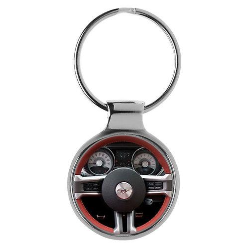 Geschenk für Ford Mustang Fans Cockpit Schlüsselanhänger 20815