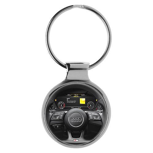 Geschenk für Audi S5 Fans Cockpit Schlüsselanhänger 20805