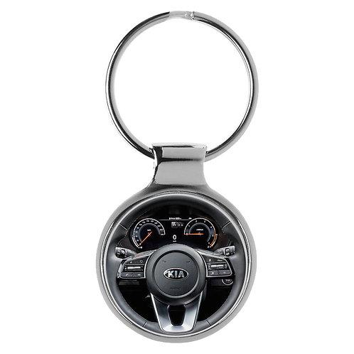 Geschenk für Kia XCeed Fans Cockpit Schlüsselanhänger 20935