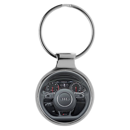 Geschenk für Audi RS6 Fans Cockpit Schlüsselanhänger 20871