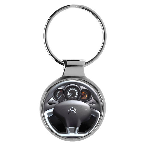 Geschenk für Citroen C3 Fans Cockpit Schlüsselanhänger 10132