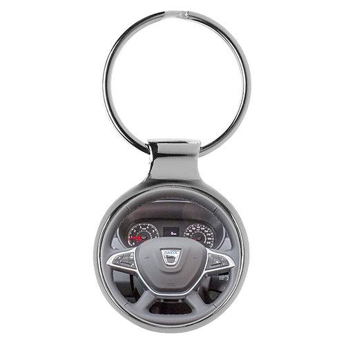 Geschenk für Dacia Duster Fans Cockpit Schlüsselanhänger 20868