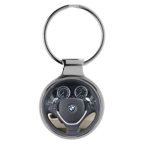 Geschenk für BMW X6 Fans Cockpit Schlüsselanhänger 20846