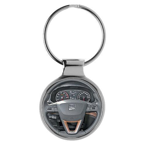 Geschenk für Seat Ibiza Fans Schlüsselanhänger 20996