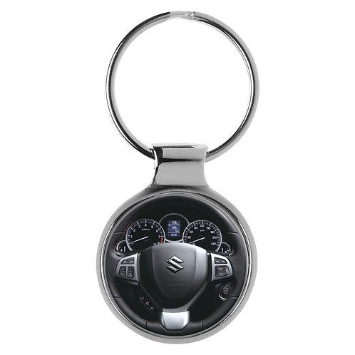 Geschenk für Suzuki Swift Fans Cockpit Schlüsselanhänger 10131
