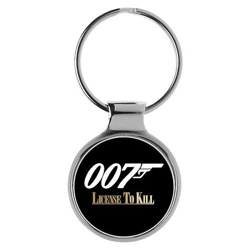 Geschenk für James Bond Fans Schlüsselanhänger 9572