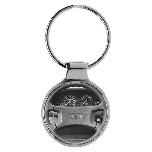 Geschenk für Audi 100 C3 Fans Cockpit Schlüsselanhänger 20862