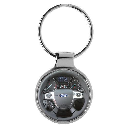 Geschenk für Ford Kuga Fans Cockpit Schlüsselanhänger 20789