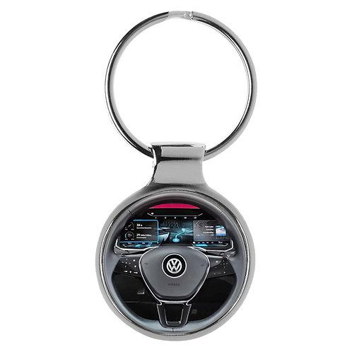 Geschenk für VW Golf Fans Cockpit Schlüsselanhänger 20810
