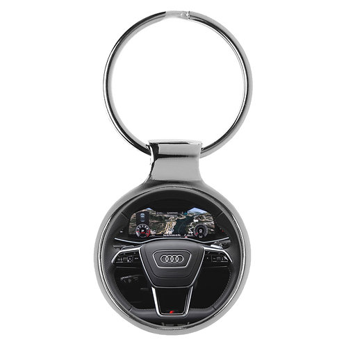 Geschenk für Audi A6 Fans Cockpit Schlüsselanhänger 20861