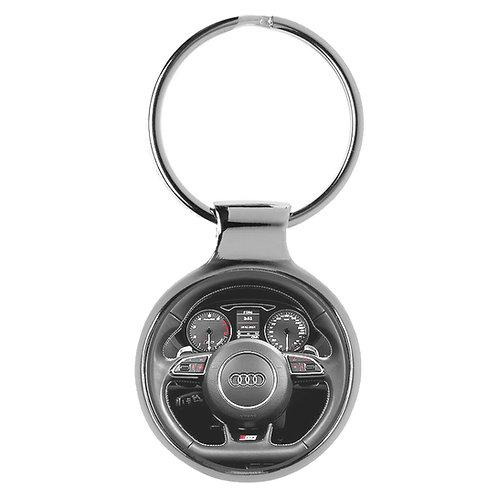 Geschenk für Audi S3 Fans Cockpit Schlüsselanhänger 10021