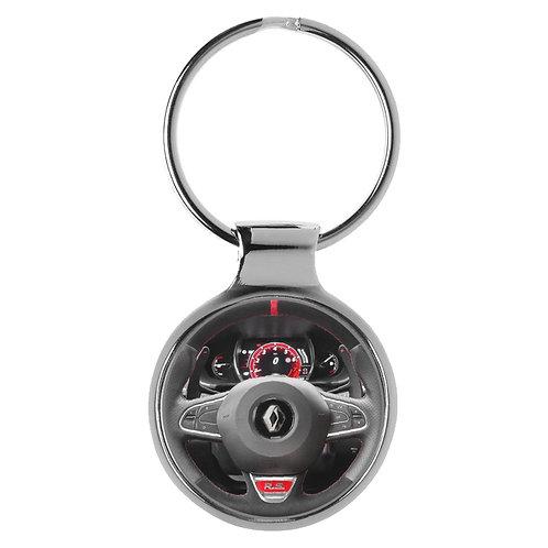 Geschenk für Renault Megane RS Fans Cockpit Schlüsselanhänger 20940