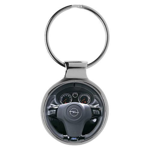 Geschenk für Opel Corsa Fans Cockpit Schlüsselanhänger 10075