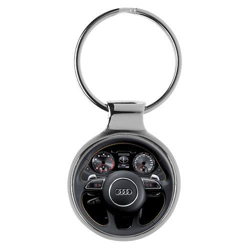 Geschenk für Audi Q3 Fans Cockpit Schlüsselanhänger 20794