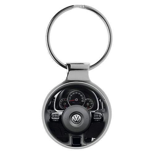 Geschenk für VW Beetle Fans Cockpit Schlüsselanhänger 20929