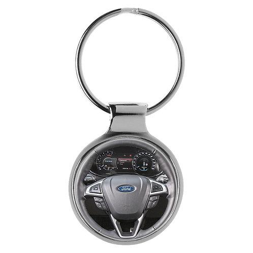 Geschenk für Ford Mondeo Fans Cockpit Schlüsselanhänger 20869
