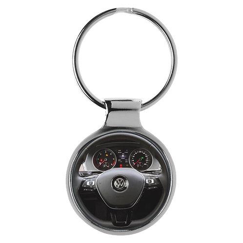 Geschenk für VW Passat Fans Cockpit Schlüsselanhänger 10118