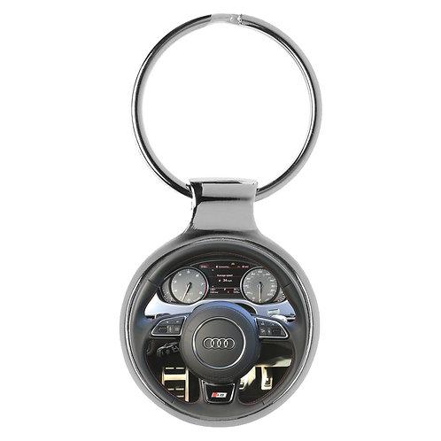 Geschenk für Audi S8 Fans Cockpit Schlüsselanhänger 20850