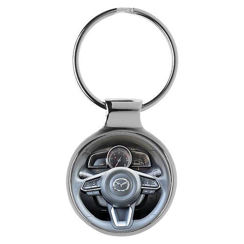 Geschenk für Mazda 3 Fans Cockpit Schlüsselanhänger 20926