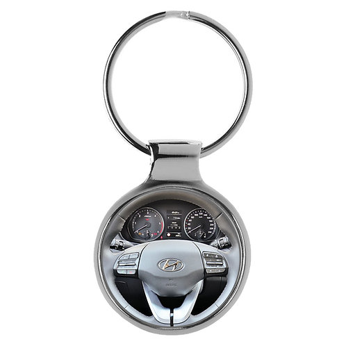 Geschenk für Hyundai i30 Fans Cockpit Schlüsselanhänger 20927