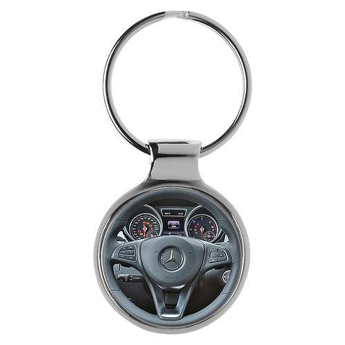 Geschenk für Mercedes GLE Fans Cockpit Schlüsselanhänger 20857