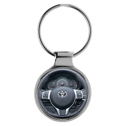 Geschenk für Toyota Yaris Fans Cockpit Schlüsselanhänger 20626