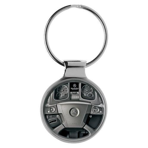 Geschenk für Mercedes Actros Fans Cockpit Schlüsselanhänger 20807
