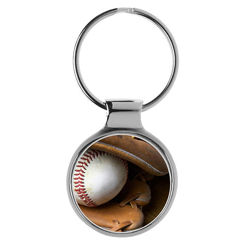 Baseball Handschuh mit Ball Geschenk Schlüsselanhänger 9610