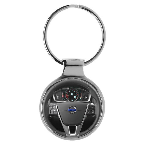 Geschenk für Volvo XC60 Fans Cockpit Schlüsselanhänger 10127