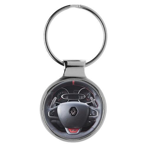 Geschenk für Renault Clio RS Fans Cockpit Schlüsselanhänger 20941