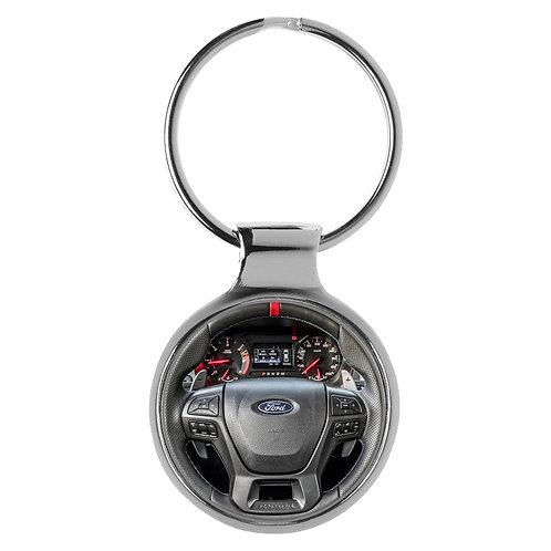 Geschenk für Ford Ranger Fans Cockpit Schlüsselanhänger 20806
