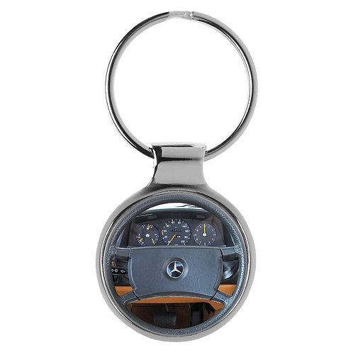Geschenk für Mercedes 230 Fans Cockpit Schlüsselanhänger 20798