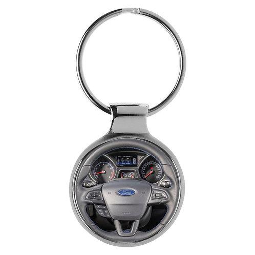 Geschenk für Ford Focus Fans Cockpit Schlüsselanhänger 10087