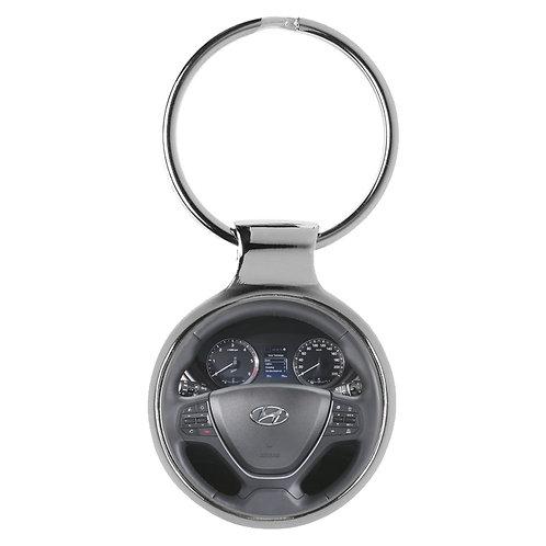 Geschenk für Hyundai i20 Fans Cockpit Schlüsselanhänger 20950