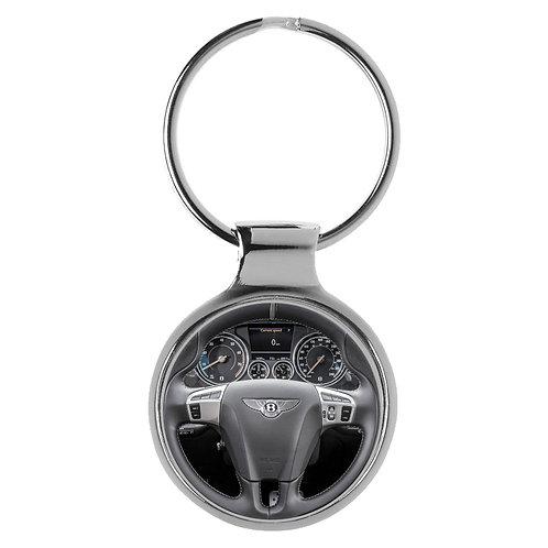 Geschenk für Bentley Continental Fans Cockpit Schlüsselanhänger 20865