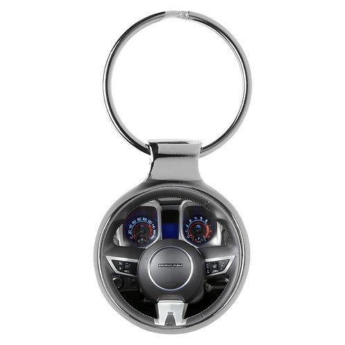 Geschenk für Chevrolet Camaro Fans Cockpit Schlüsselanhänger 20631