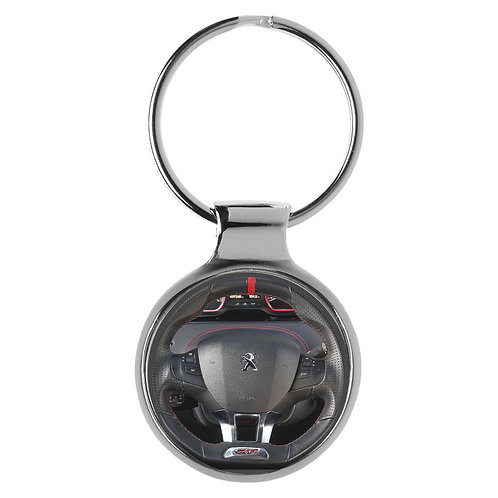 Geschenk für Peugeot 208 GTI Fans Cockpit Schlüsselanhänger 20938