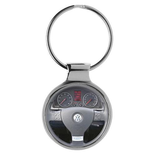 Geschenk für Golf 5 Fans Cockpit Schlüsselanhänger 20834