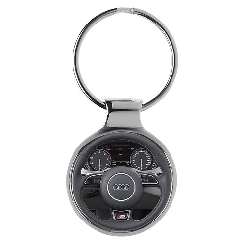 Geschenk für Audi A8 Fans Cockpit Schlüsselanhänger 10101