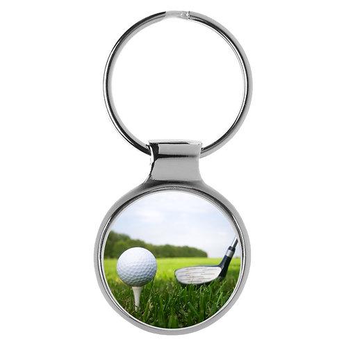 Golf Golfball Schläger Tees Geschenk Schlüsselanhänger 9612