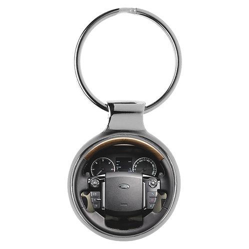 Geschenk für Land Rover Discovery 4 Fans Cockpit Schlüsselanhänger 20825