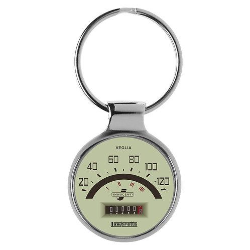 Geschenk für Lambretta Fans Cockpit Schlüsselanhänger 20790