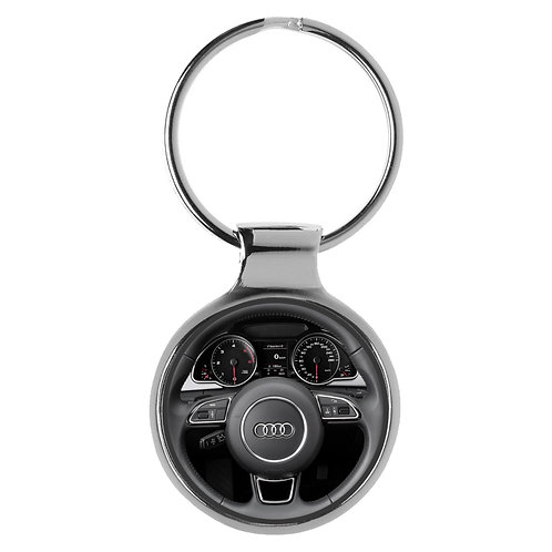 Geschenk für Audi A5 Fans Cockpit Schlüsselanhänger 10049