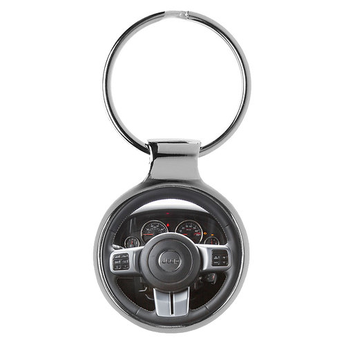 Geschenk für Jeep Wrangler Fans Cockpit Schlüsselanhänger 10028